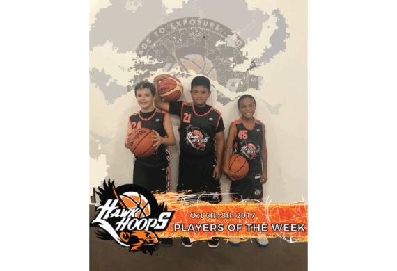 Players Of The Week Oct 6-8th